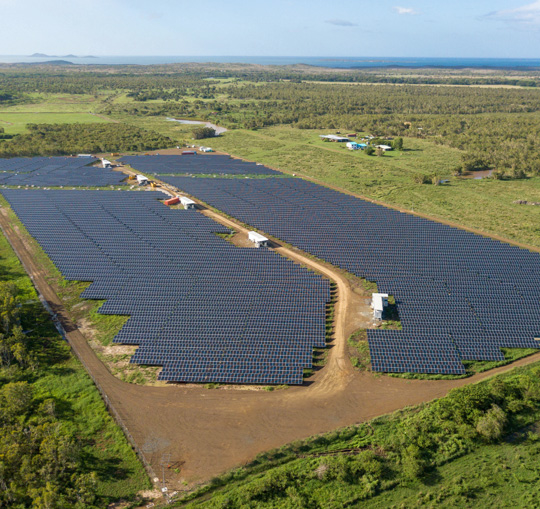 EDF Store & Forecast: In New Caledonia, photovoltaic electricity is now available after sunset!